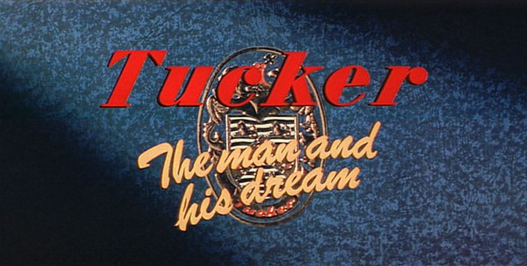 Tucker the Man and His Dream movie review car automobile film Jeff Bridges Coppola scene