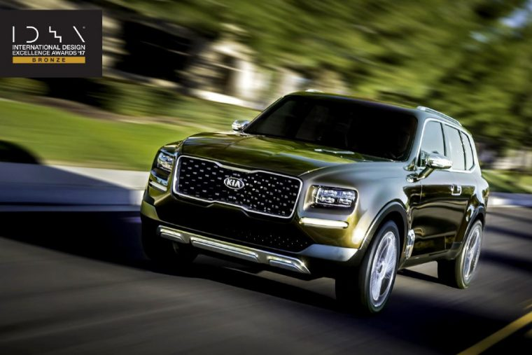 2018 kia telluride. Plain Telluride Kia Telluride Takes The Bronze At 2017 International Design Excellence  Awards Intended 2018 Kia Telluride