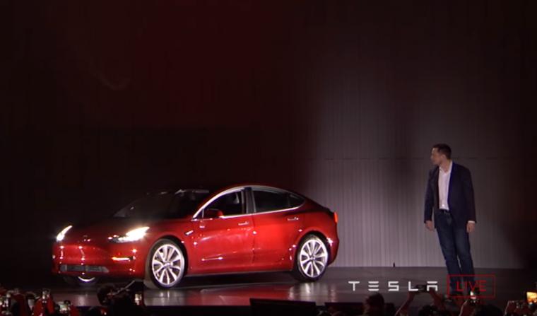 Elon Musk - Model 3