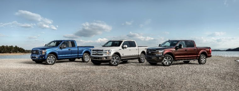 2018 Ford F-150 lineup
