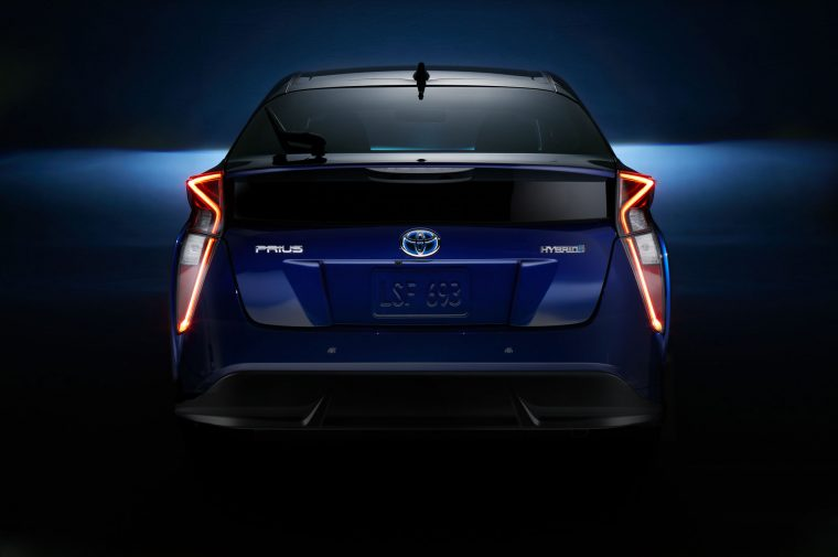 2016 Toyota Prius tail lights