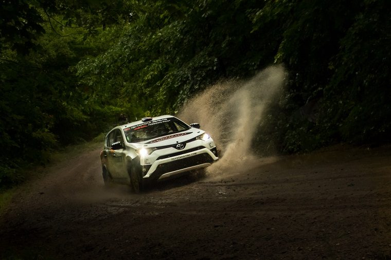 2017 Toyota Rally RAV4 at Ojibwe Forests Rally