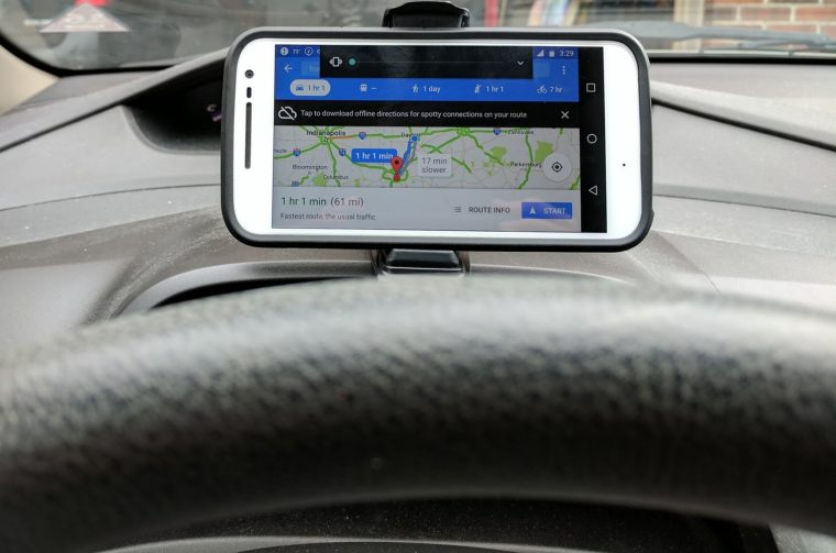 smartphone holder hands free driving Mate2GO
