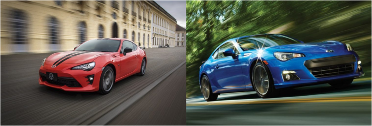 In Truth The Fuel Efficiency Ratings For Subaru Brz And Toyota 86 Are Nearly Equal To Each Other Still Is Not Same As