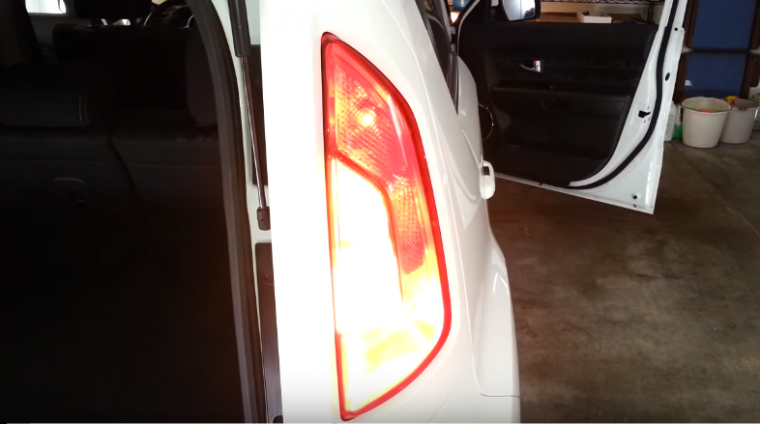 Kia Soul Tail Light