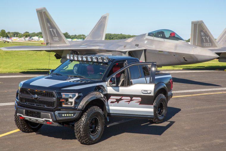 Ford F-22 F-150 Raptor EAA Gathering of Eagles AirVenture Oshkosh