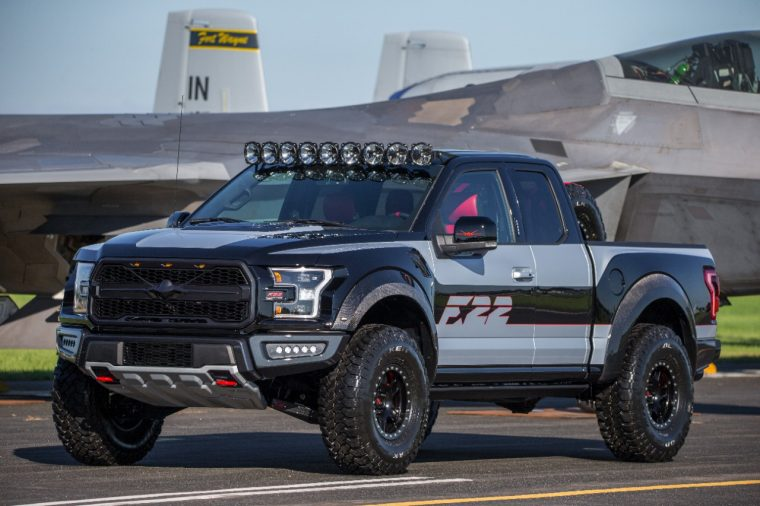 Ford F-22 F-150 Raptor EAA Gathering of Eagles AirVenture Oshkosh