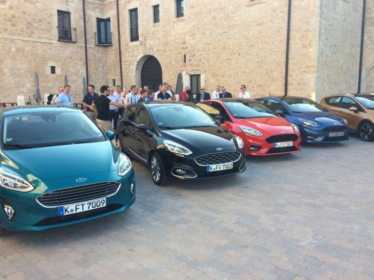 Hanging Out In Beautiful Northern Spain Mingling With Your Friends And Peers And Getting A First Hand Look At One Of The Hottest New Vehicles Ford