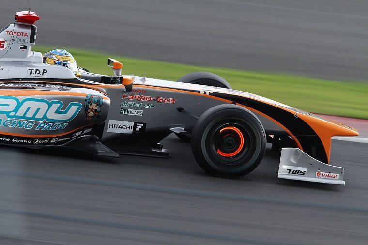 Hiroaki Ishiura in Super Formula