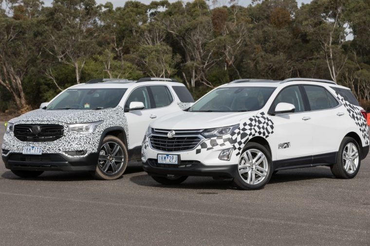 Holden Acadia and Holden Equinox