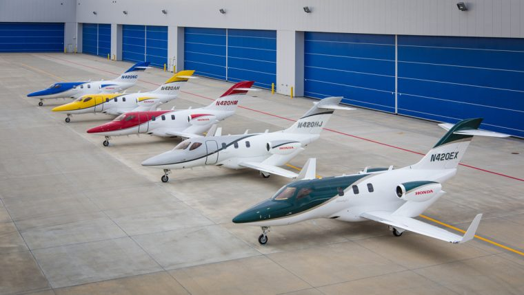 HondaJet Obtains Brazilian Type Certification
