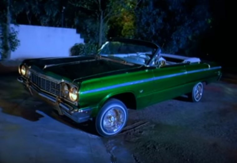 Ice Cube It Was a Good Day 1964 Green Chevrolet Impala Convertible