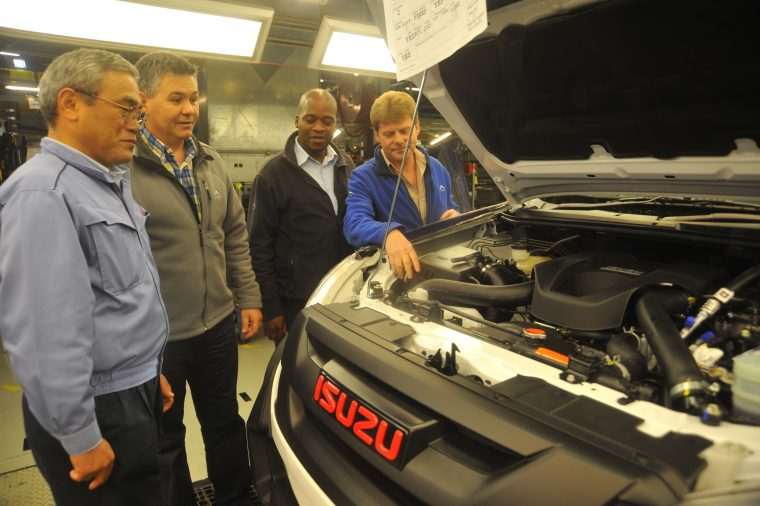 Isuzu KB X-Rider Production at Struendale