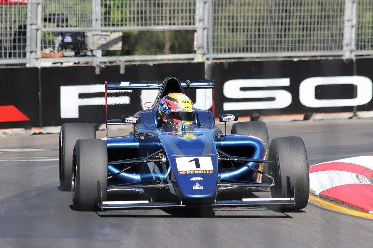 Jordan Lloyd in Formula 4