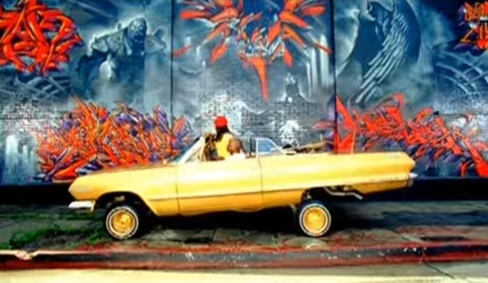Ludacris Act a Fool 1963 Gold Chevrolet Impala Convertible