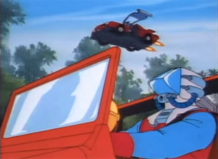 M.A.S.K. animated television show cartoon cars military DIC Kenner toys transforming vehicles flying