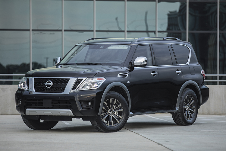 2018 nissan suv.  2018 the 2018 nissan armada is an absolute beast largest suv in nissanu0027s  lineup can hold three rows of passengers comfortably for short commutes or long  and nissan suv