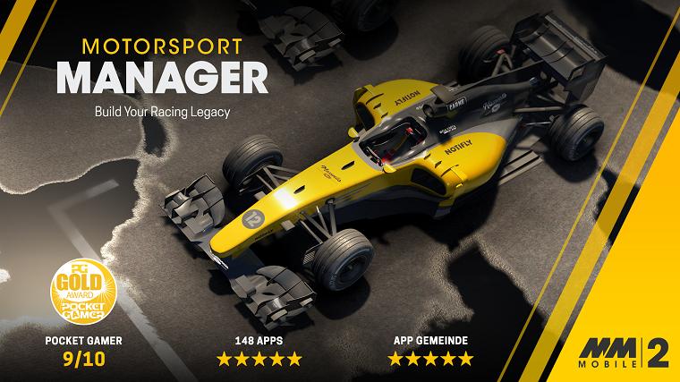 Motorsport Manager Mobile 2 Cover