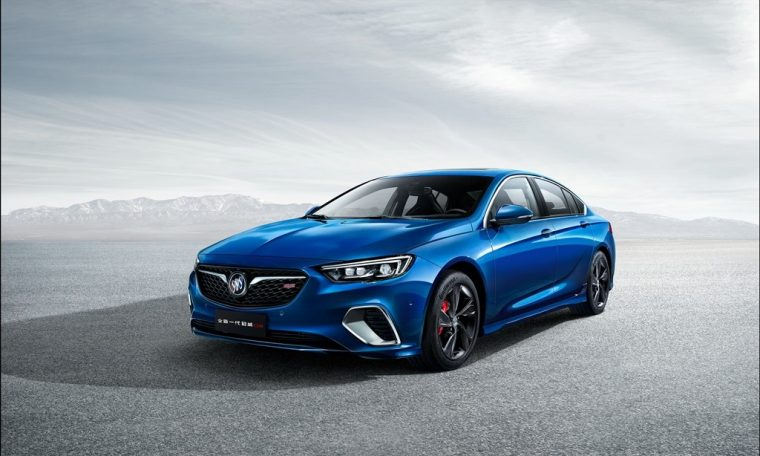 New Buick Regal GS China