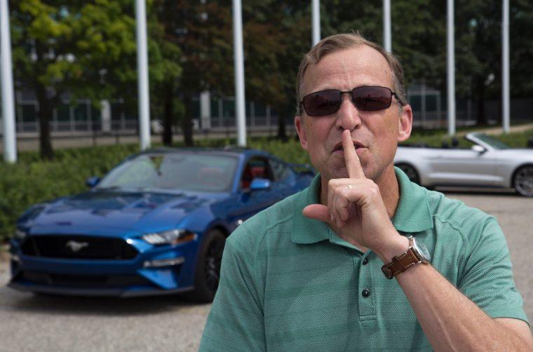 Steve Von Foerster Quiet Start Mustang