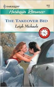 The Takeover Bid Leigh Michaels classic antique car romance love novel book
