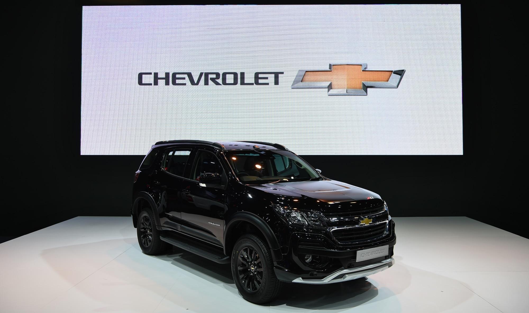 Chevrolet Trailblazer Z71 Bows at BIG Motor Sale 2017 in ...