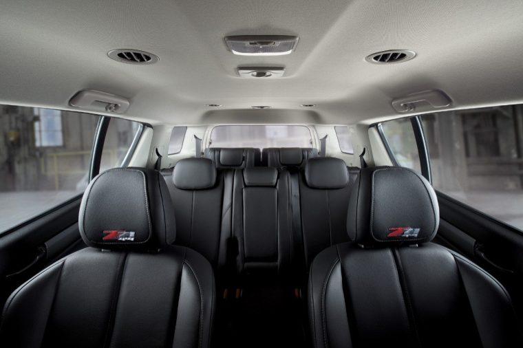 Chevrolet Trailblazer Z71 interior