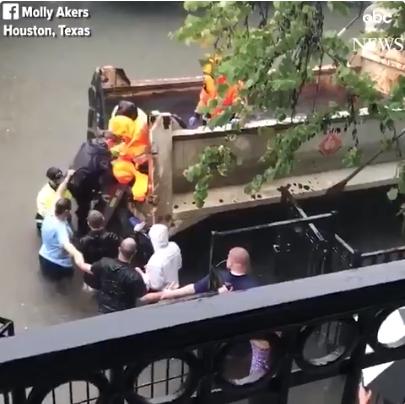 Water Rescue Houston Harvey