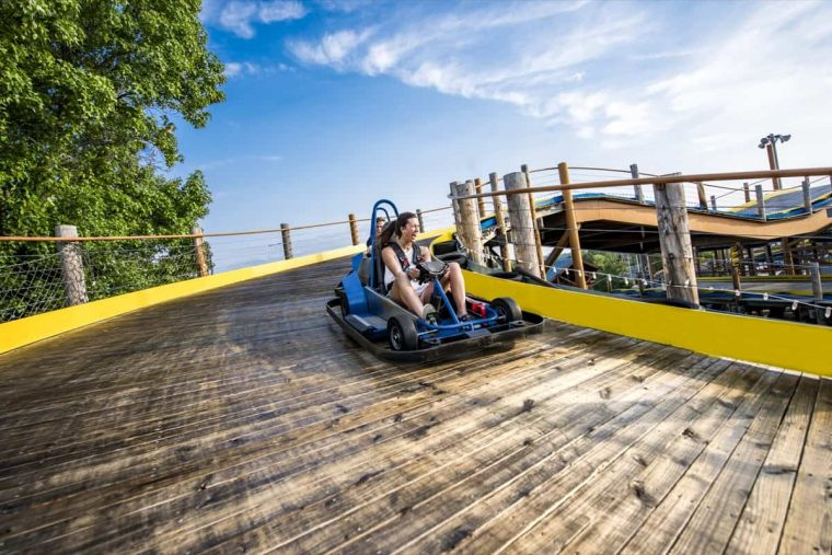 Wild Woody go kart track Branson Missouri