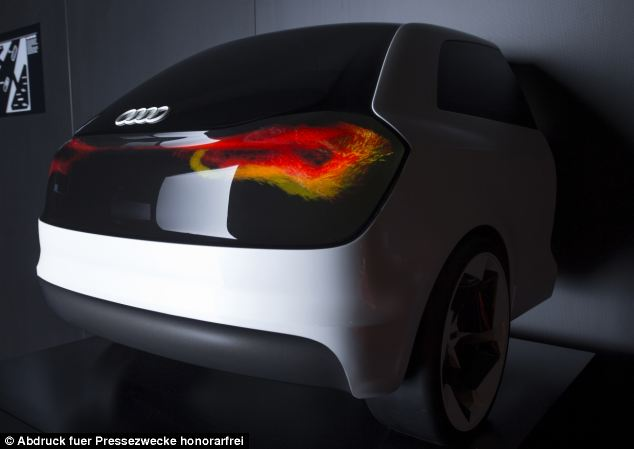 Audi swarm tail light technology