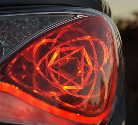 Sonata Hybrid Atomic Tail Light Design