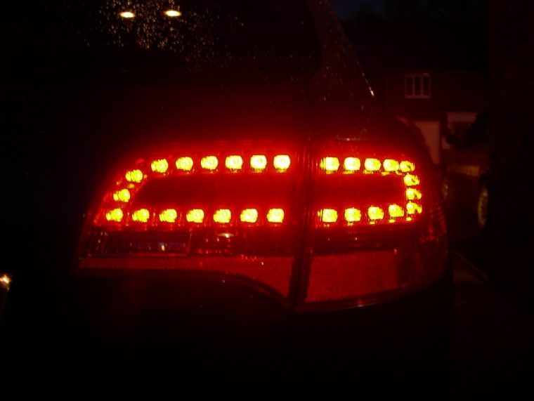 Audi A6 Avant C6 LED Tail Light Retrofit Details