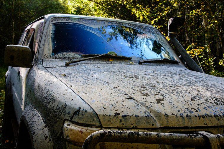 Dirty vehicle