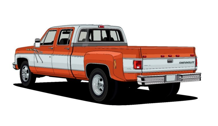 1973 C30 One-Ton Dually