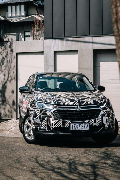 2018 Holden Equinox Art Car