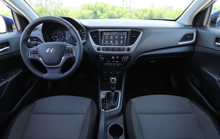 2018 Hyundai Accent details redesign subcompact car model interior