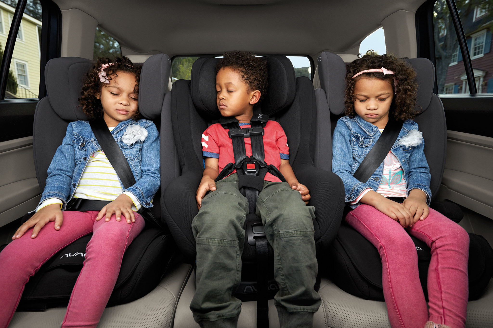 Two Volkswagen Suvs Cater To Kids Car Seat Safety And Space The