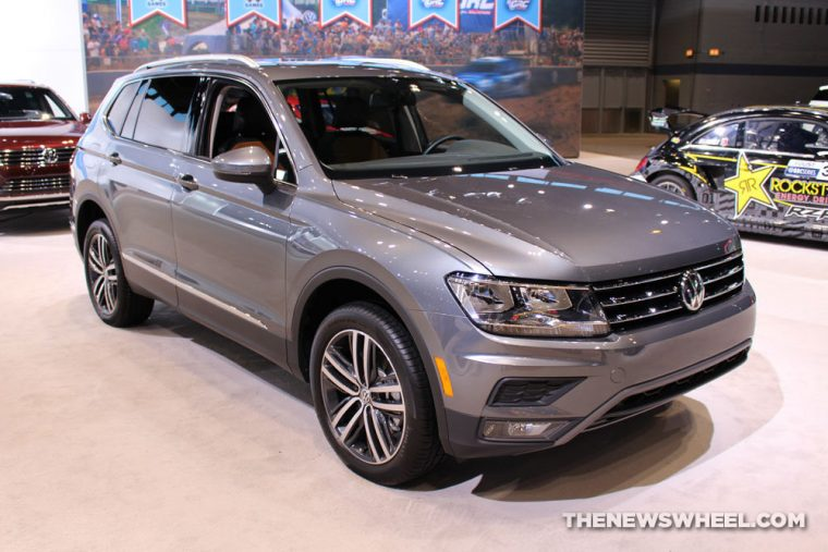 2018 Volkswagen Tiguan Earns Bragging Rights As 2017 S Best Compact Suv