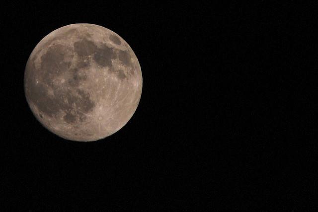 moon bright full lunar cycle