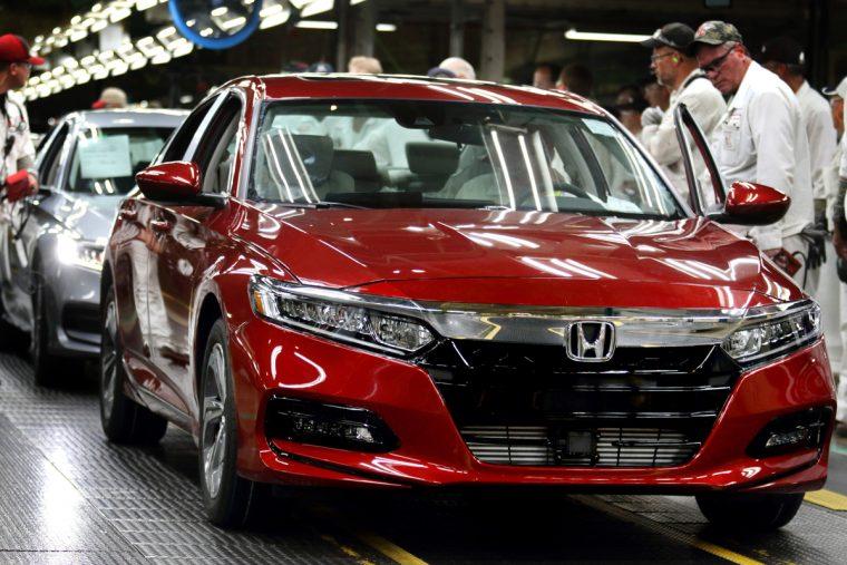 Honda Marysville Assembly Plant 2018 Honda Accord