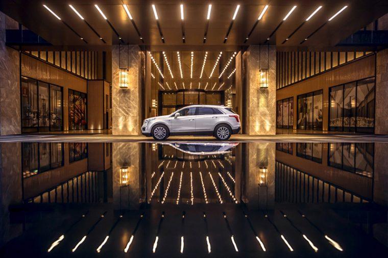 Cadillac XT5 mild hybrid China