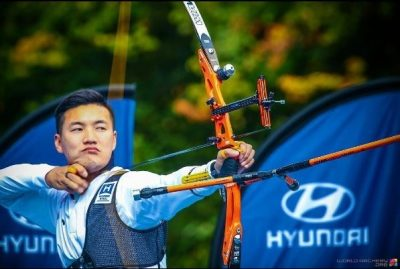 Hyundai Archery world championship cup sports sponsorship