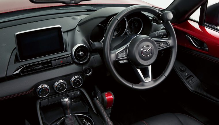 Mazda hand control miata
