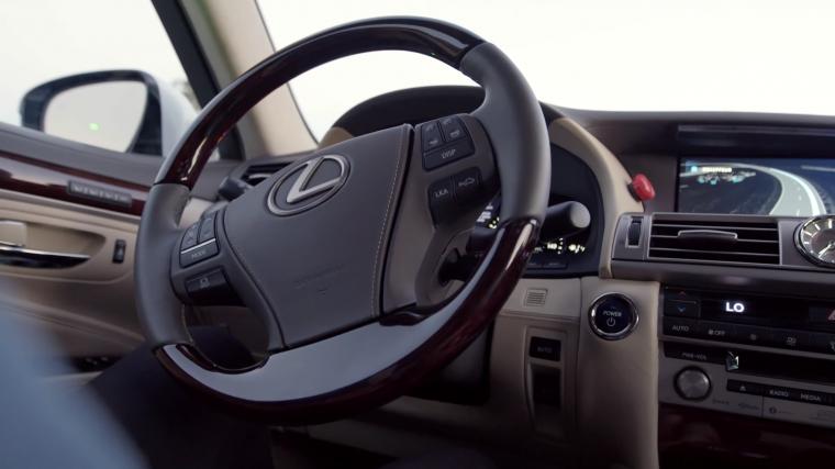 Toyota's Autonomous Research Vehicle