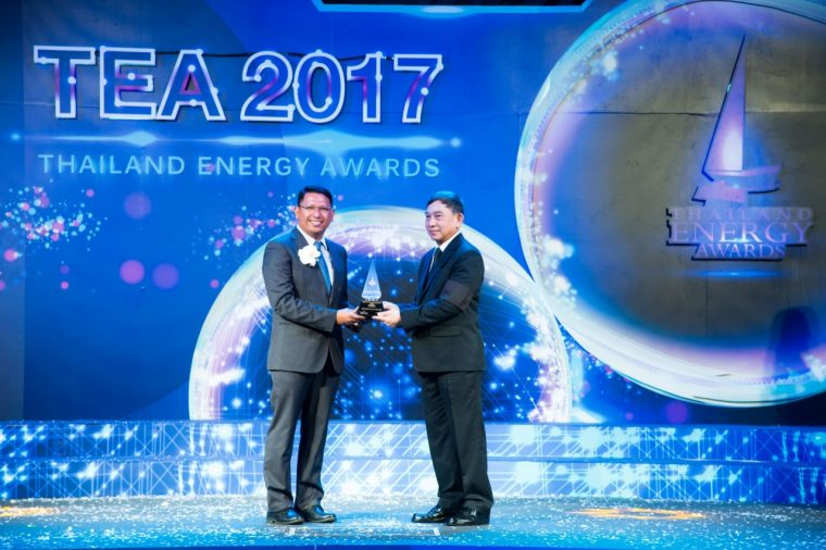 GM Thailand Rayong Thailand Energy Awards 2017