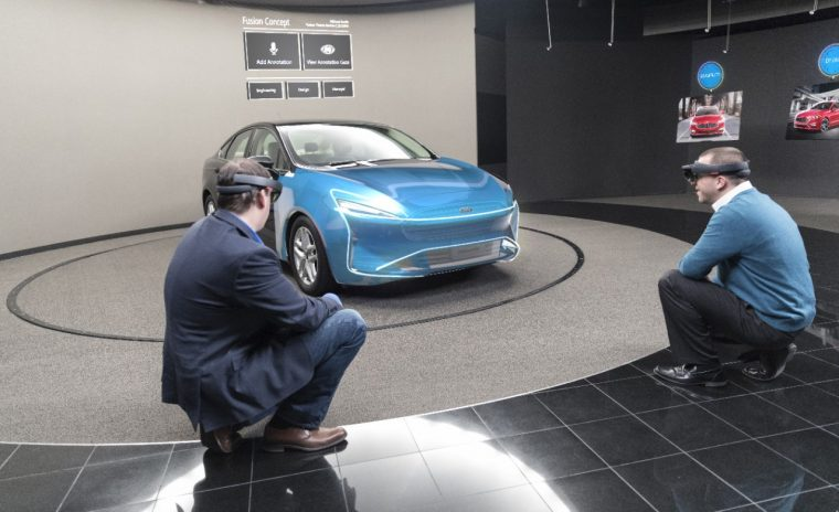 Ford testing Microsoft Hololens technology globally