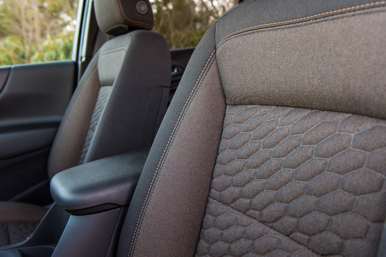 2018 Chevrolet Equinox denim-like stain-resistant interior
