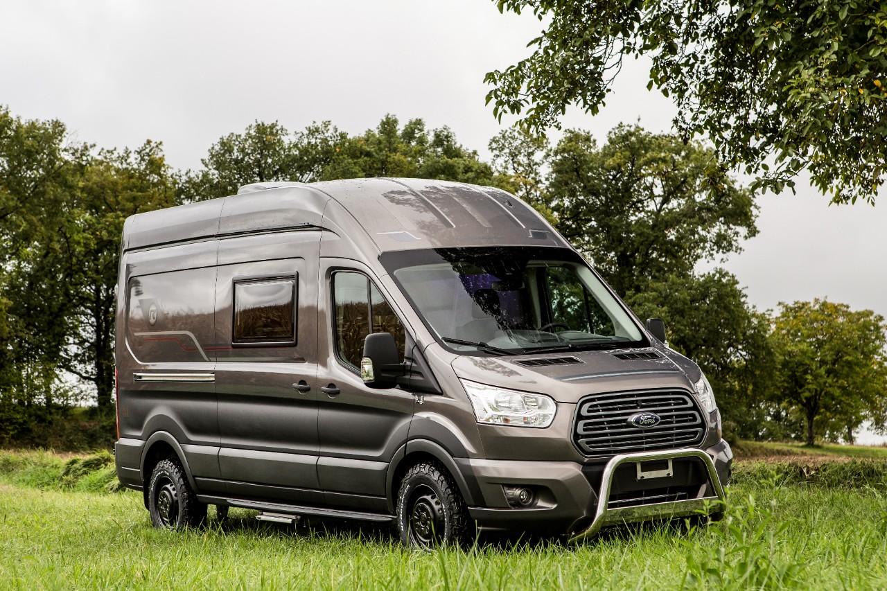 ford transit van based randger 560 motorhome more capable. Black Bedroom Furniture Sets. Home Design Ideas