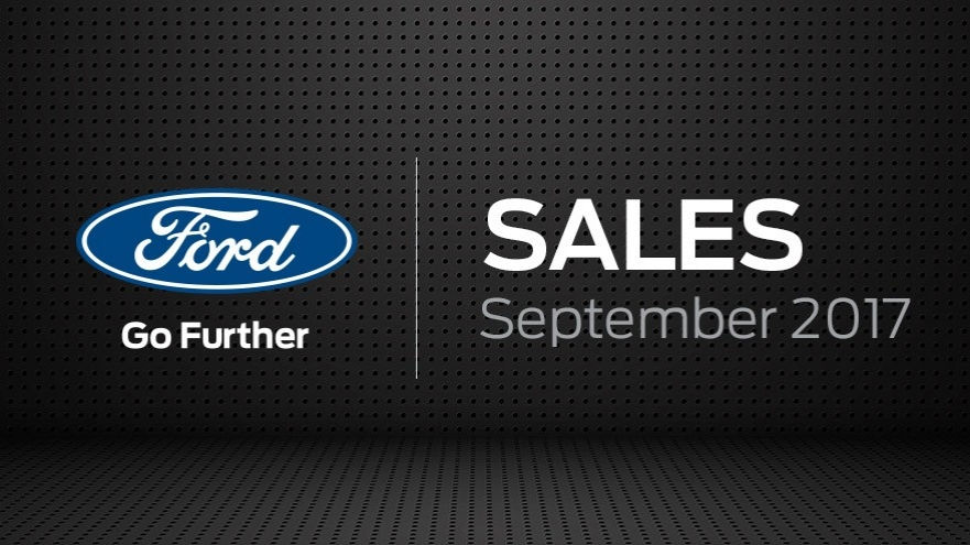 Ford Motor Company Sales September 2017