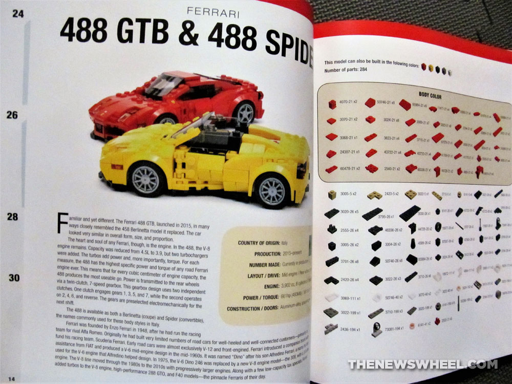 How to Build Brick Cars Motorbooks LEGO building book ...
